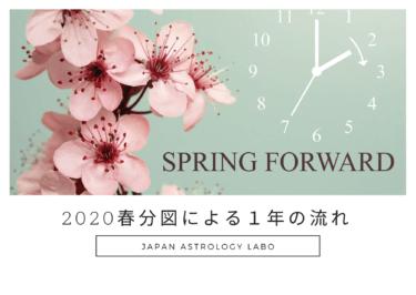 2020年 春分図による1年の流れ