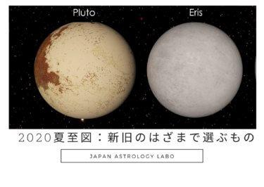 2020.6.21夏至図:天王星とエリスの意図へ。新旧のはざまで選び取るもの