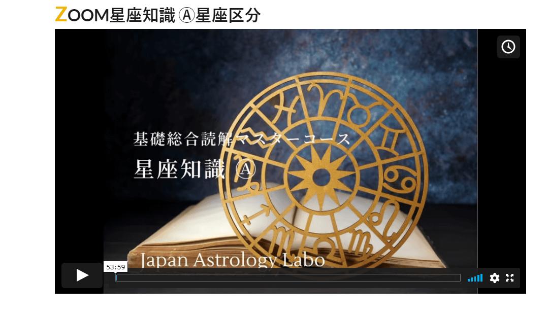 占星術星座知識